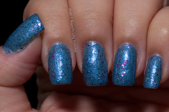 Darling Diva Polish Denim Mitten