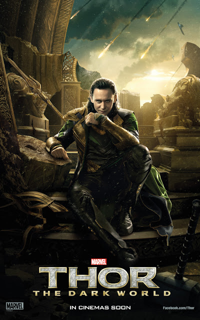 Thor: The Dark World Loki Character Banner