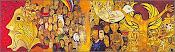 Mural-grito de los excluidos-Cotacachi-2001