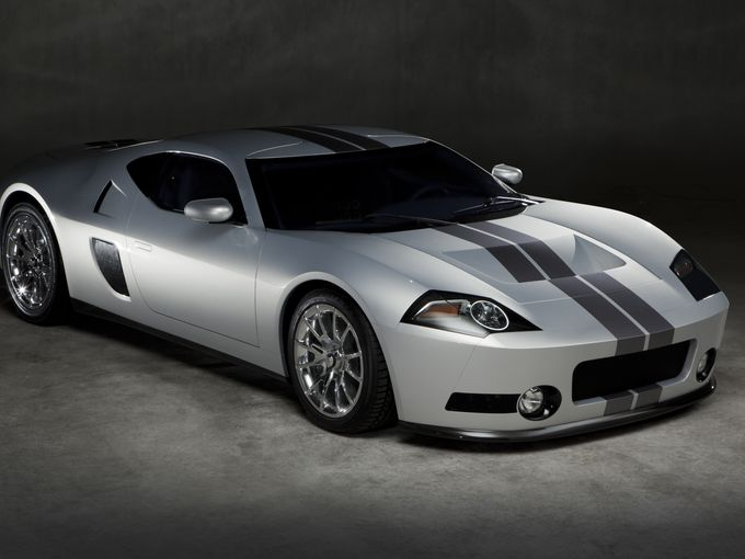 Million Dollar Ford GTR1 Produces 1,024-Horsepower