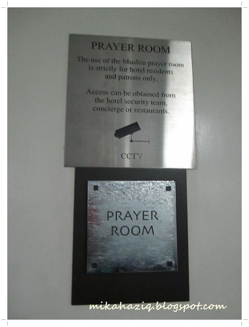 Crown casino prayer room
