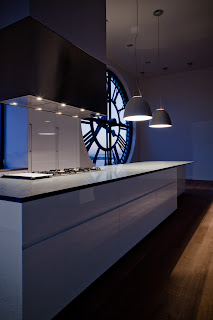 Minimal USA GLAM Kitchen at The Clock Tower