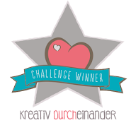 Winner-Badge von kreativ durcheinander
