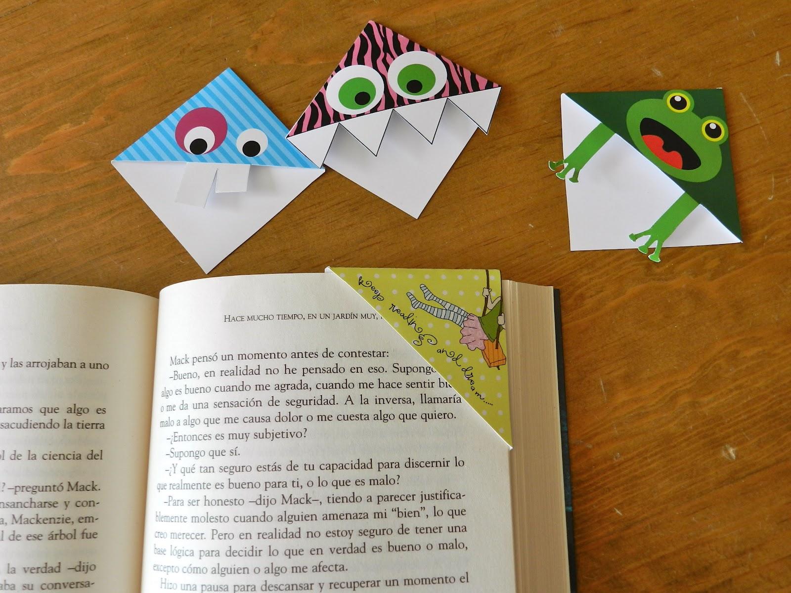 The Young Reader: Separadores para libros