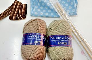 materiales mochila lana valeria di roma