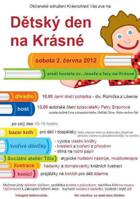 Dětský den na Krásné 2012 - plakát