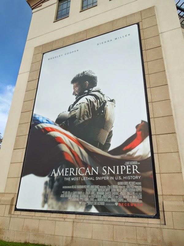 American Sniper movie billboard