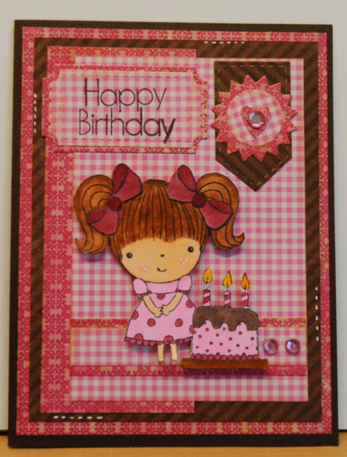 I Have Made Her Card With A Stamp From The Penny Black Set Big Wishisnt She Just Cutest
