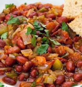 Vegetarian Sopu Recipe; Awesome Vegetarian Chili