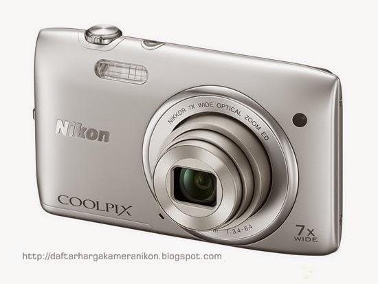 Harga dan Spesifikasi Kamera Nikon Coolpix S3400