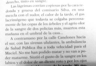 Plata quemada, Ricardo Piglia, Liberaij, diario Acción