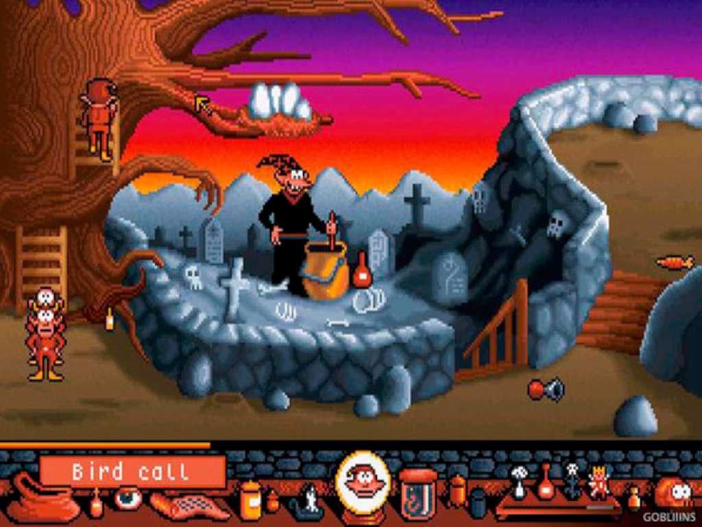 Скриншот из игры gobliiins
