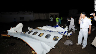 Airplane crashed in pakistan 2012