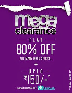 Clothing, Footwear, Accessories & Home upto 80% off