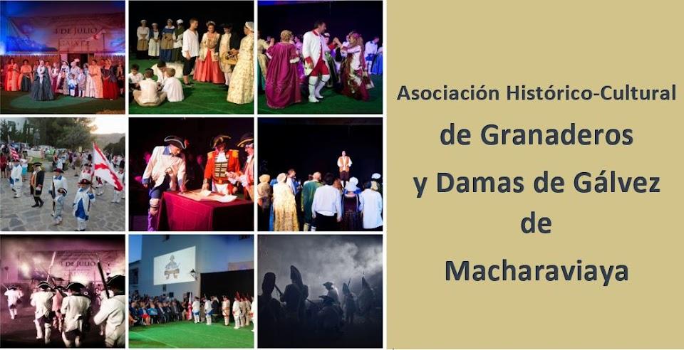 ASOCIACIÓN DE GRANADEROS Y DAMAS DE GÁLVEZ DE MACHARAVIAYA
