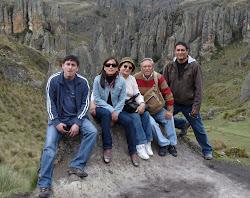 De visita en el Bosque de Piedras