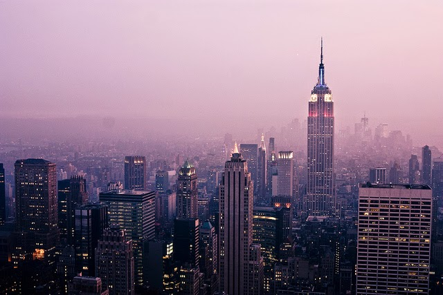 Stunning images of New York City, beautifully captured by Emily Golitzin.