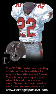 Atlanta Falcons 1998 uniform