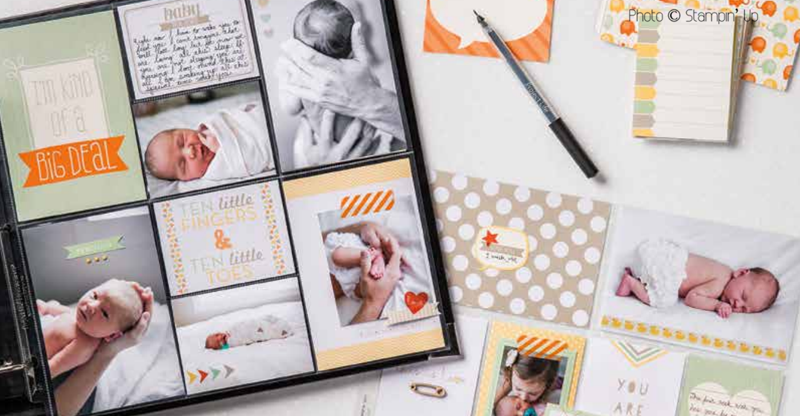 Stampin' Up Project Life layout ideas and inspiration