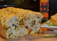 Pão Semi-Integral com Azeitonas (vegana)