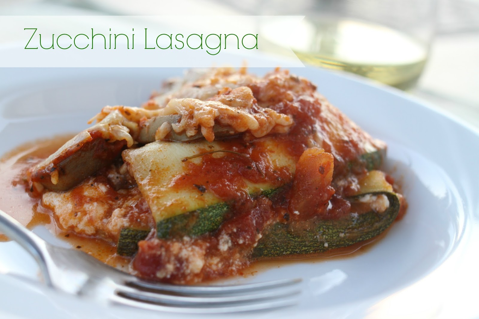 ... with amazing basil parsley and caper sauce tomato sausage lasagna