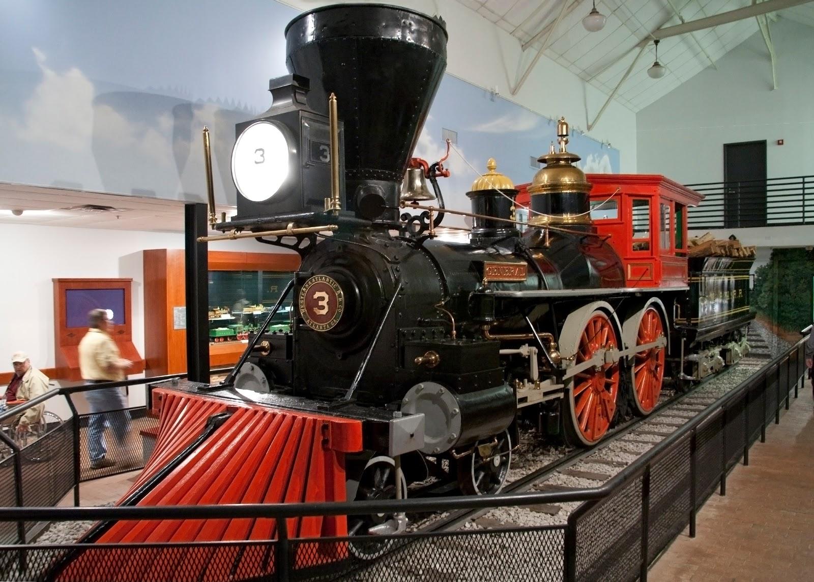 General,Union Station,railroad locomotives,trains,Chattanooga,Tennessee,TN,c1907