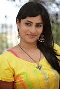 Aparna Glam pics in yellow top-thumbnail-16
