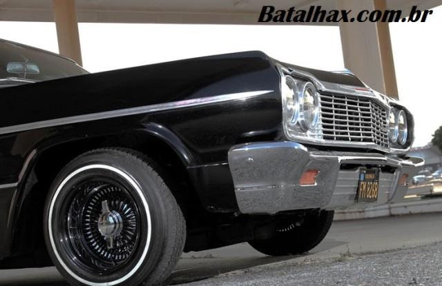 Chevrolet Impala 1964 com suspensão Hidráulica