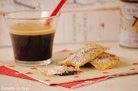 Wantuns de chocolate para acompañar el café