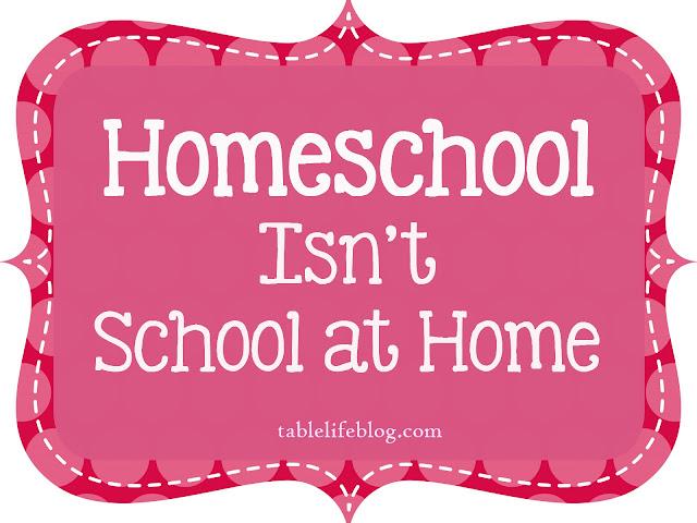 homeschool school home reflections advice