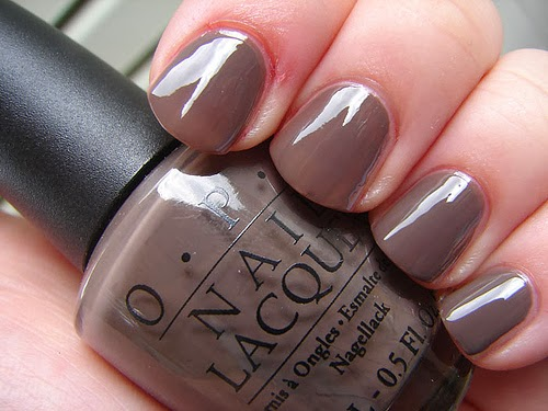 Looking For A Beautiful Darker Nail Color The Winter But Red Isn T Your Why Not Try Neutral Dark Like Opi S You Don Know Jacques
