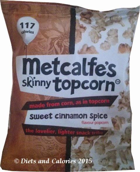 Metcalfes skinny sweet cinnamon popcorn