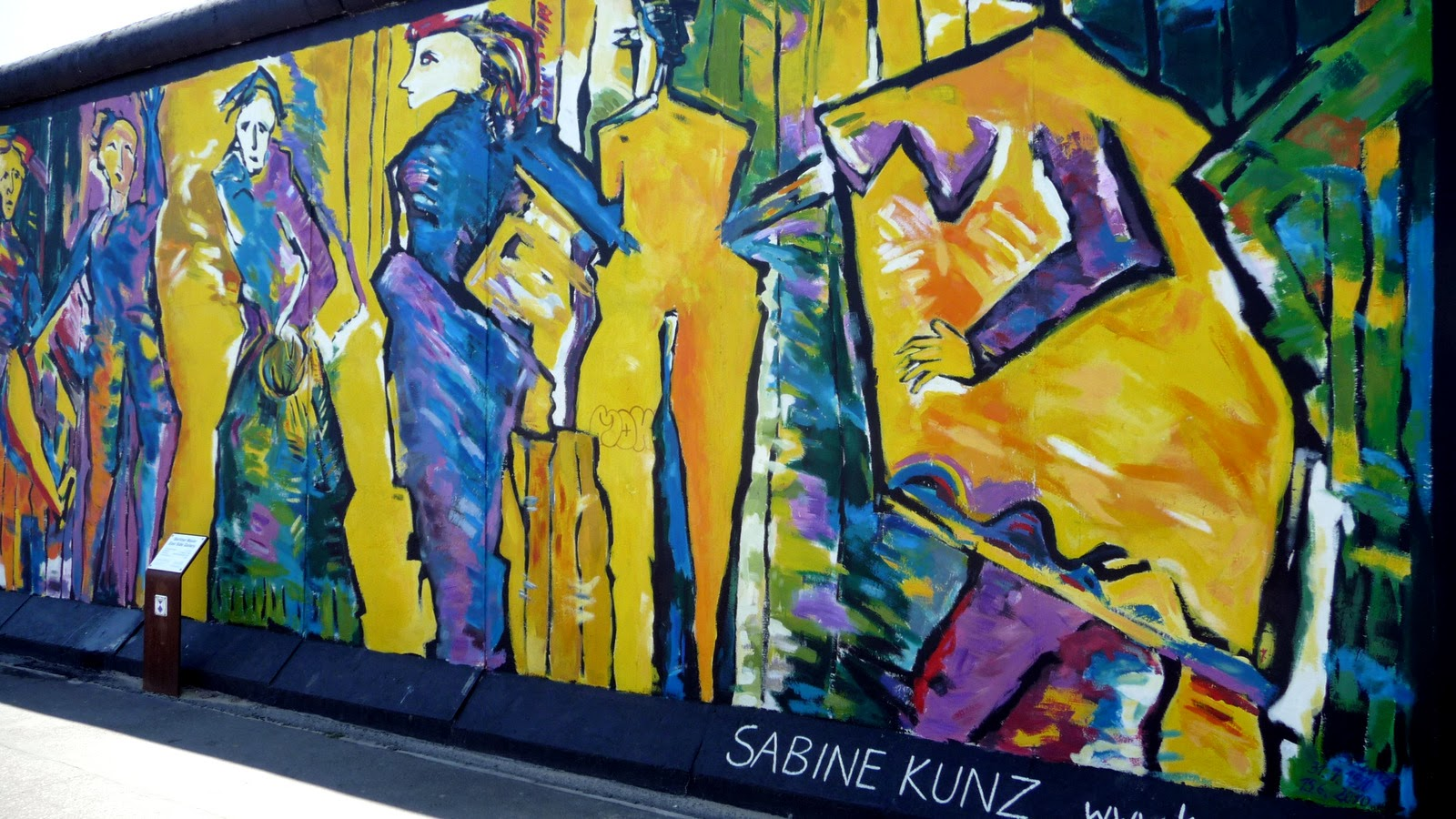 East Side Gallery - Street Art Mur de Berlin