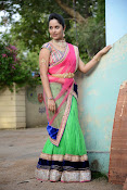 Anasuya photos in half saree-thumbnail-15