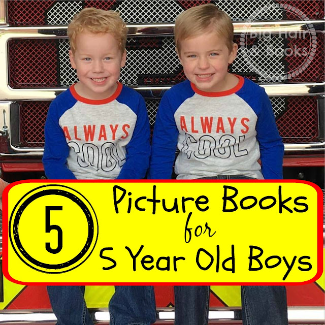 5 Picture Books for 5 Year Old Boys