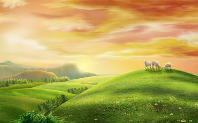 Green Earth Widescreen Wallpaper HD