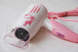 Hair Dryer Hello Kitty & Doraemon