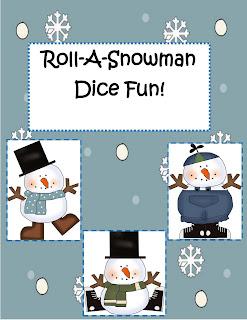 Http www teacherebooksnow com downloads roll a snowman dice and art