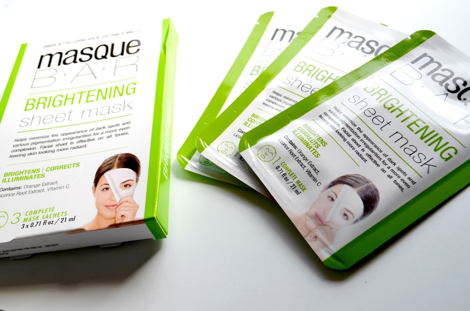 Korean brightening beaut blogger mask