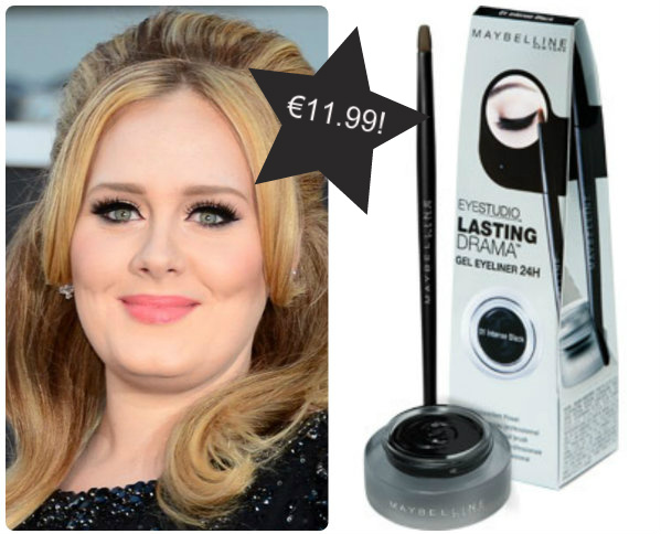 Adele's budget beauty secret revealed as Maybelline Gel Eyeliner