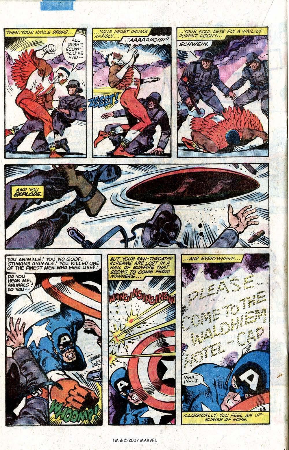Captain America (1968) Issue #264 #179 - English 20