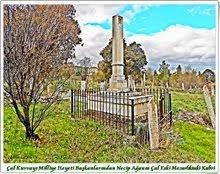 Çal Eski Mezarlıkta Necip Bey' in Mezarı