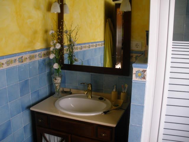 Azulejos Baño Rustico:Construcciones Rudi: CUARTO DE BAÑO RUSTICO