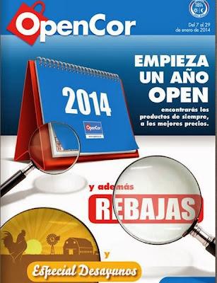 catalogo opencor Rebajas enero 2014