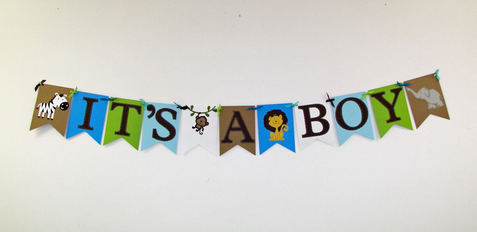 Musings of a Crafty Mom: Zoo-Themed Baby Shower