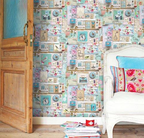 Papier peint Pip Studio Etoffe  - Papier Peint Pip Studio France