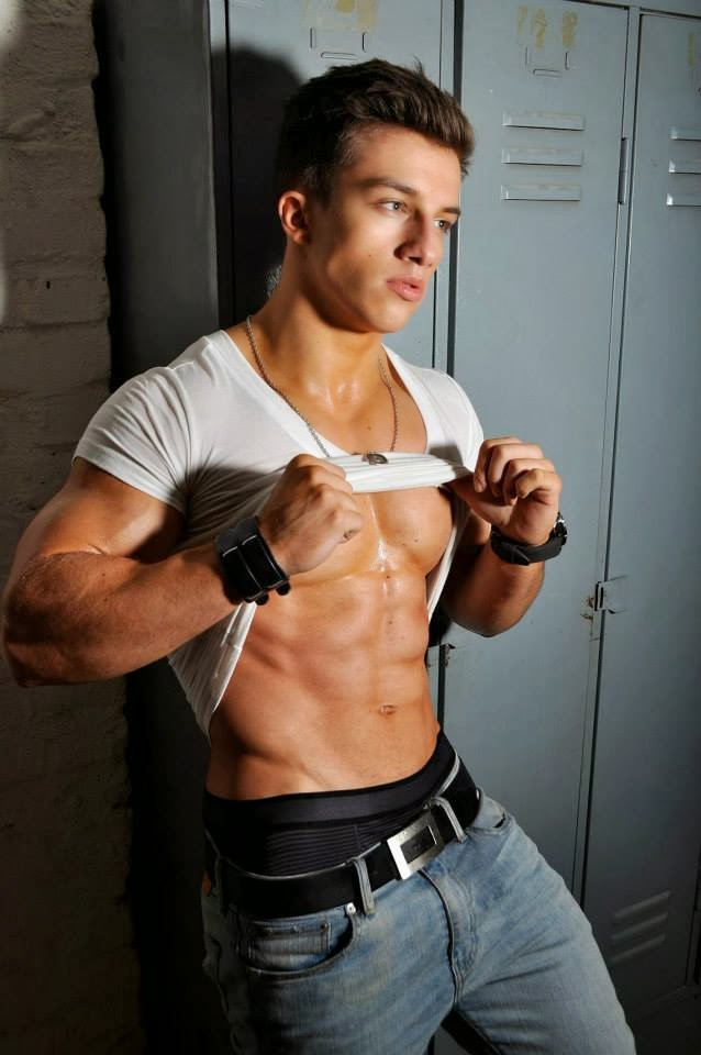 aesthetic muscle, bodybuilder, great abs, male fitness model, male model, muscle, physique, ripped muscles, Tim Gabel, vascular muscle,