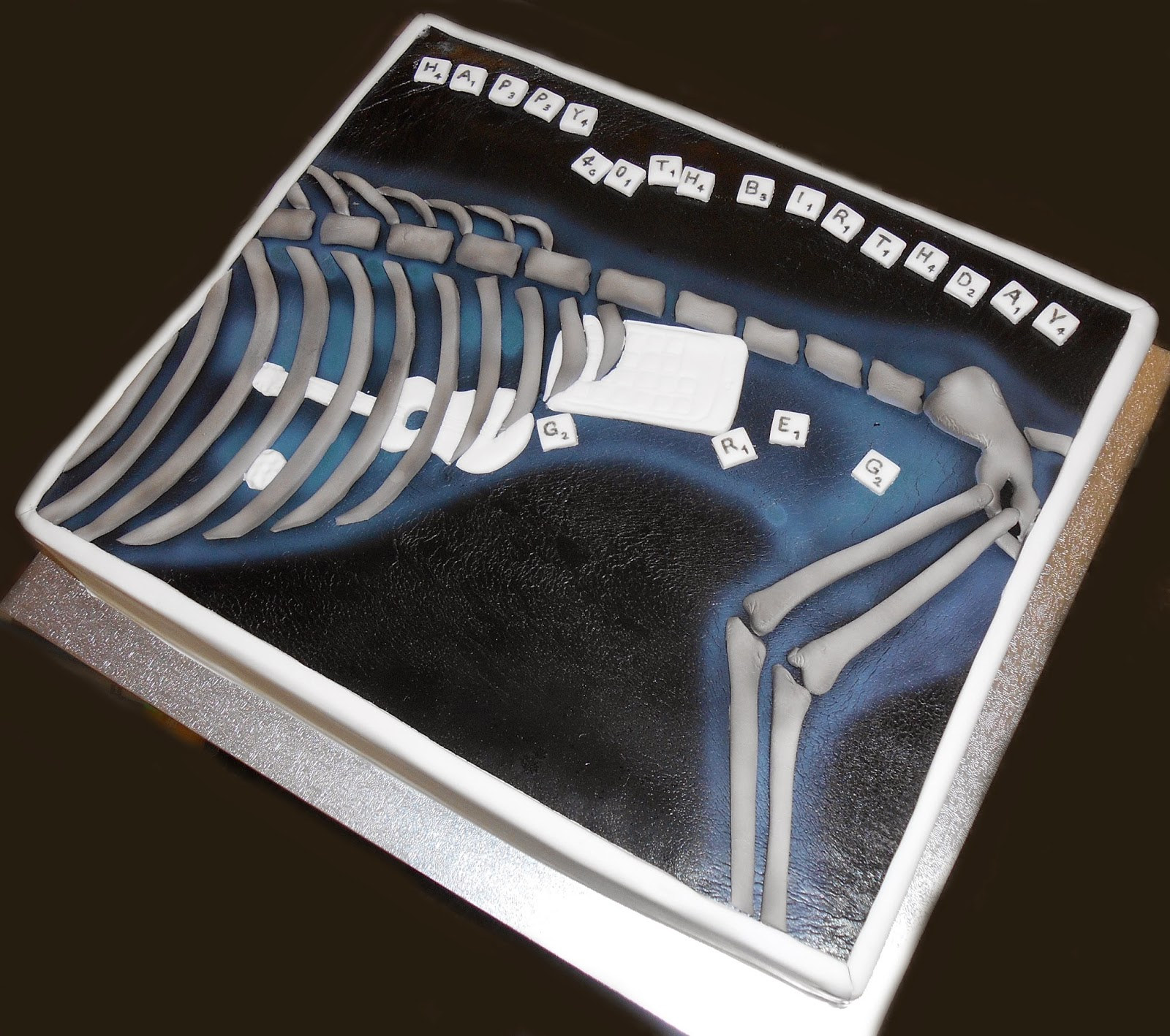 Nadas cakes Dog XRay Birthday Cake by Nadas Cakes Canberra