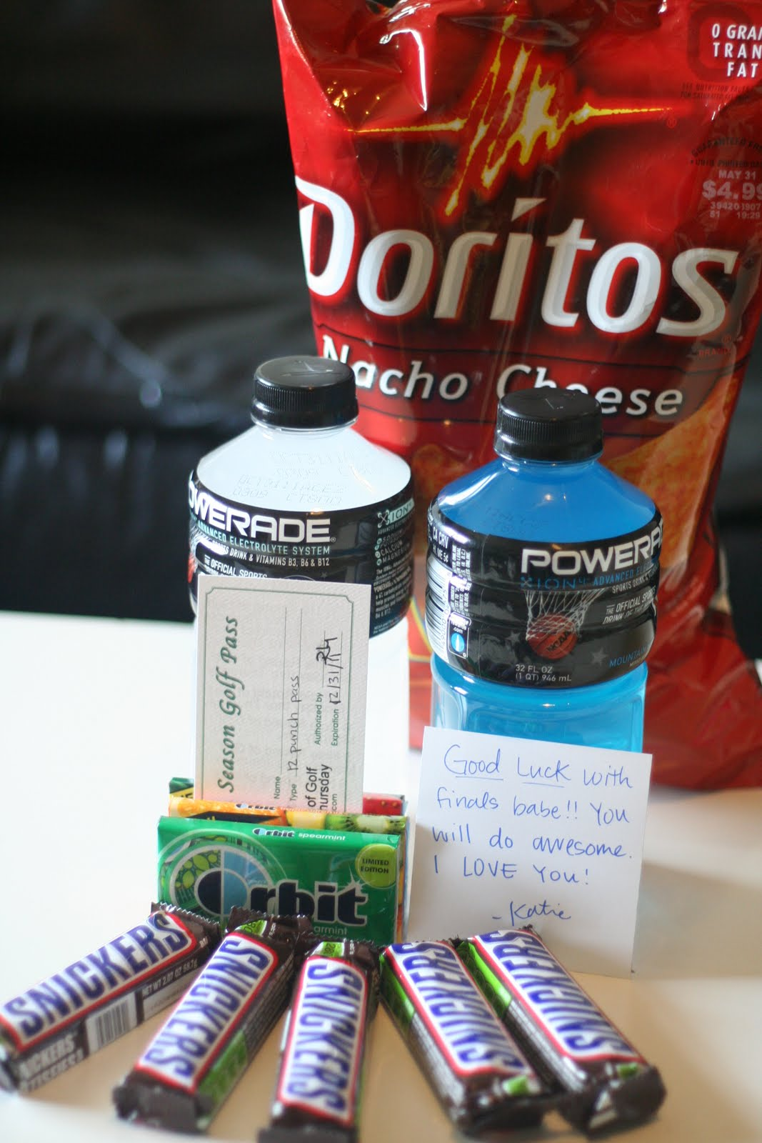 College Finals Care Packages Ideas Michelle Paige Blogs College