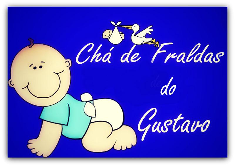 Chá De Fraldas De Gustavo